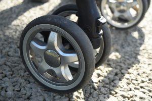 ベビーカーの車輪